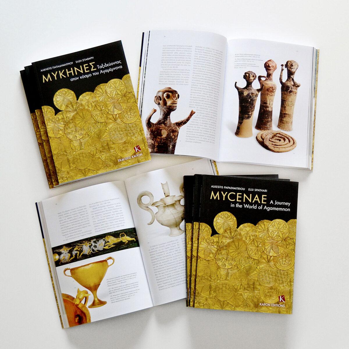 Το βιβλίο, ιδιαίτερα καλαίσθητο, κατανοητό και εύχρηστο, είναι ο κατάλληλος «συνοδός» κάθε επισκέπτη που περιηγείται τον αρχαιολογικό χώρο και το μουσείο των Μυκηνών.