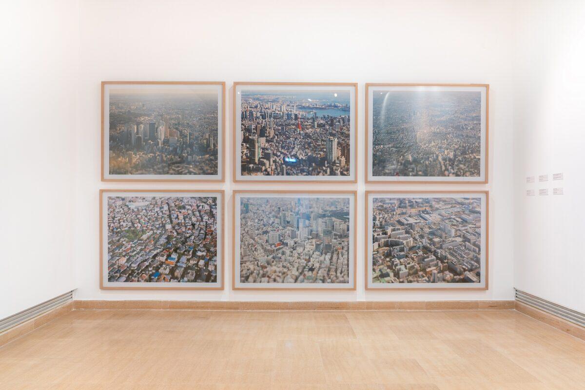 Ναόκι Χόντζο, «Τα διοικητικά διαμερίσματα του Τόκιο: Σιντζούκου, Μινάτο, Νακάνο, Σεταγκάγια, Τσούο και Κότο», εκτύπωση με ψεκασμό μελάνης, 2009 / 2008 / 2009 / 2008 / 2010 / 2008 (© ΥΠΠΟΑ/ΒΧΜ).