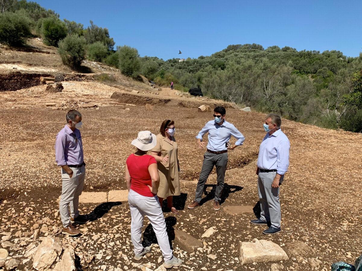 Στην ανασκαφή του αρχαίου θεάτρου Λευκάδας (φωτ.: ΥΠΠΟΑ).