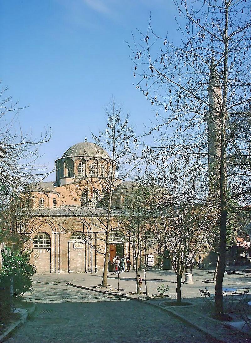 Η Μονή της Χώρας στην Κωνσταντινούπολη (φωτ.: Βικιπαίδεια).
