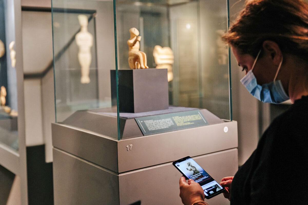 Νέες ξεναγήσειςγια τους επισκέπτες του Μουσείου Κυκλαδικής Τέχνης