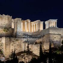 Αποδίδεται αύριο ο νέος φωτισμός της Ακρόπολης