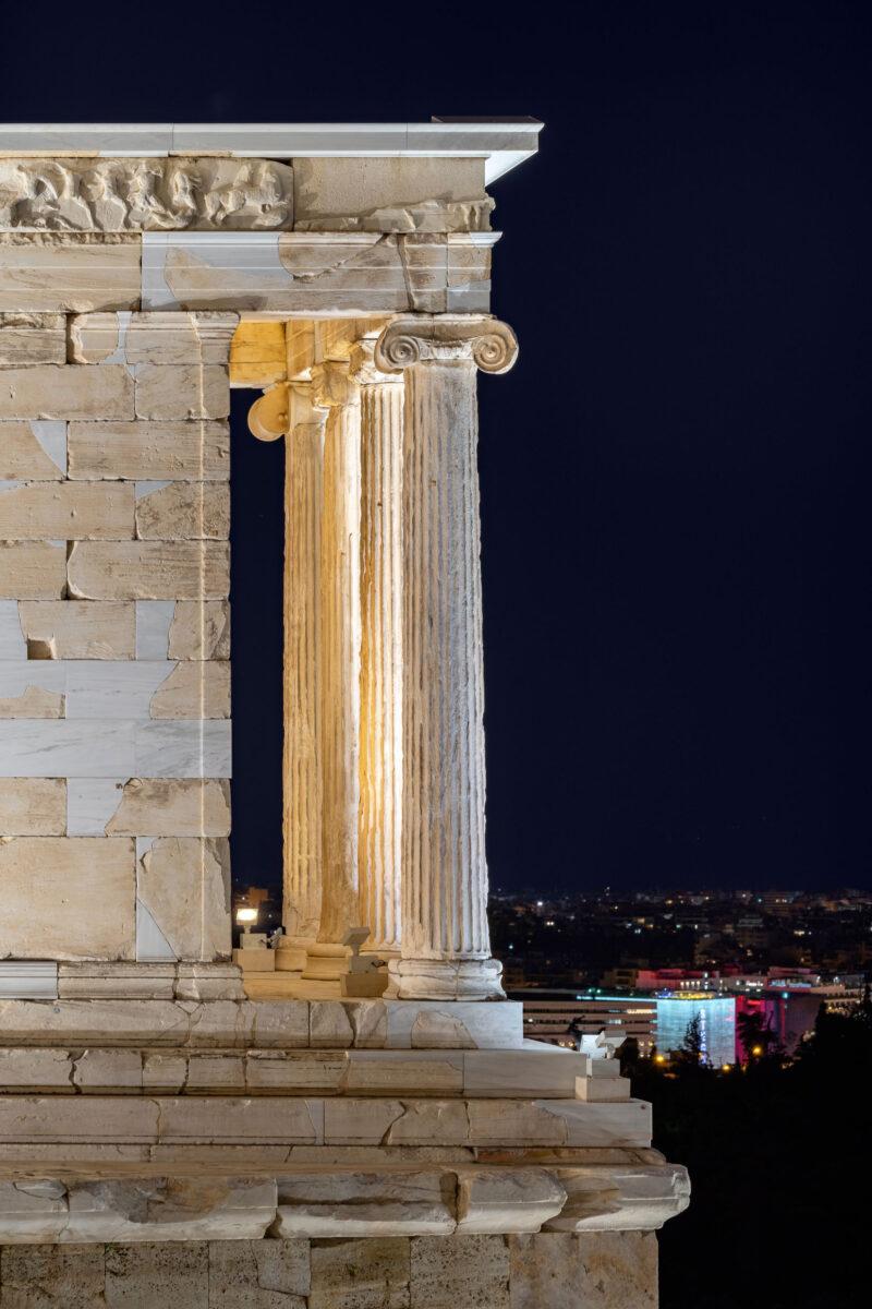 Ναός Αθηνάς Νίκης. © Gavriil Papadiotis.