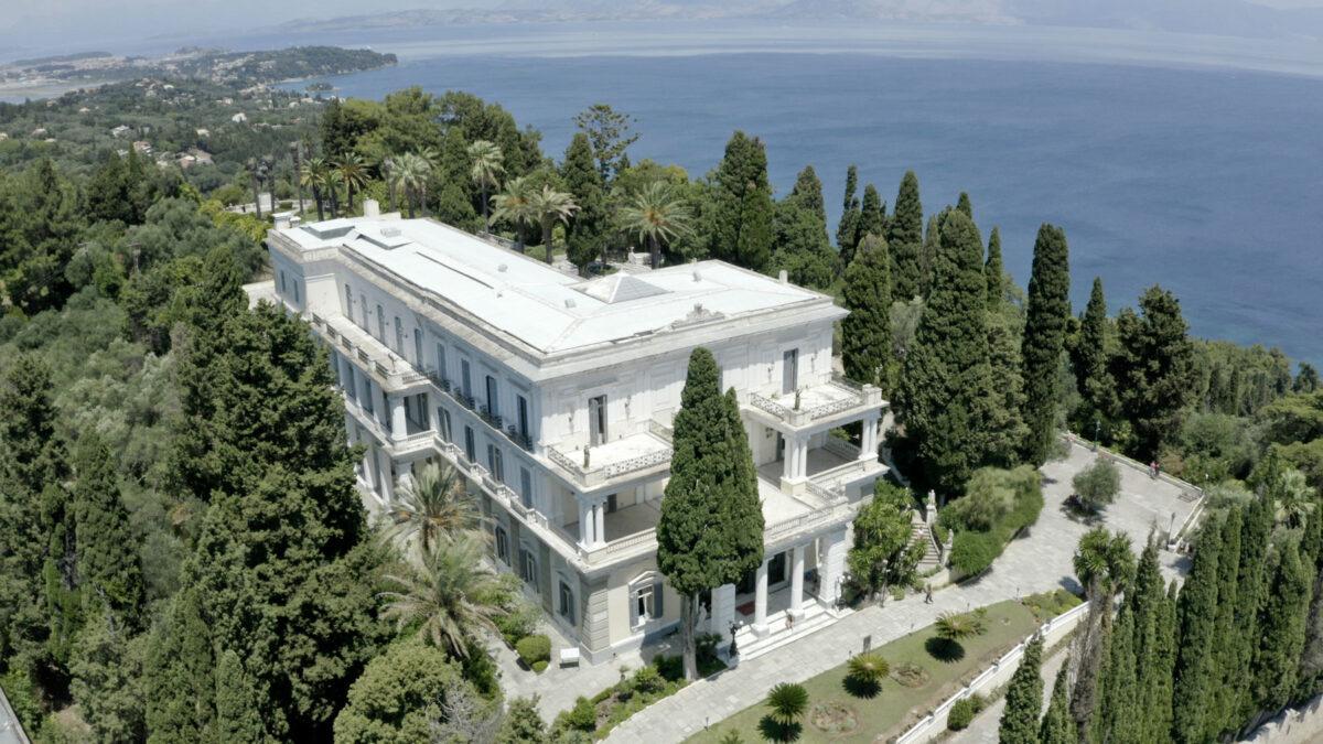 Το Αχίλλειο στην Κέρκυρα (φωτ.: ΥΠΠΟΑ).