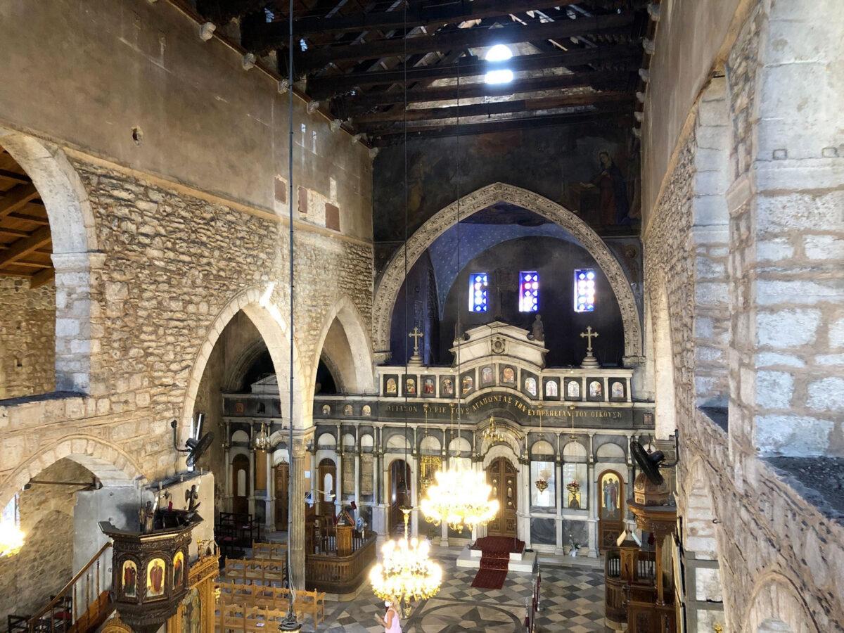 Ναός Αγίας Παρασκευής στη Χαλκίδα (φωτ.: ΥΠΠΟΑ).