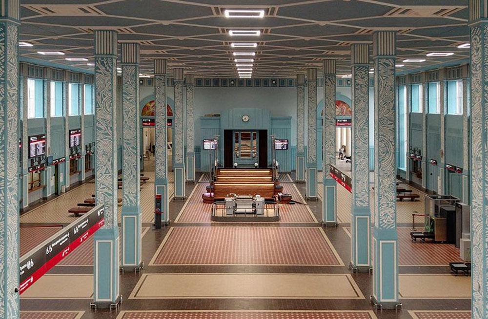 Ολοκληρώθηκε η αποκατάσταση του σιδηροδρομικού σταθμού της πόλης Ιβάνοβο