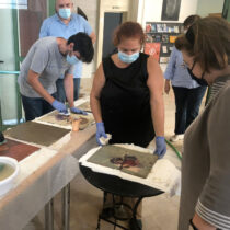 Αυτοψία της Λίνας Μενδώνη στις πολιτιστικές υποδομές της Καρδίτσας