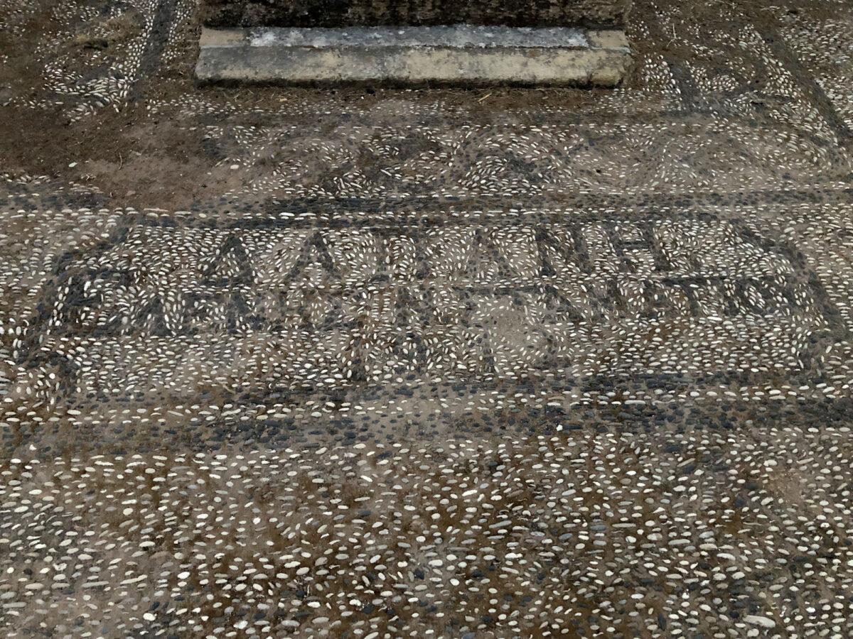 Στο Σχολείο Σταματίου στο Καστελόριζο (φωτ.: ΥΠΠΟΑ).