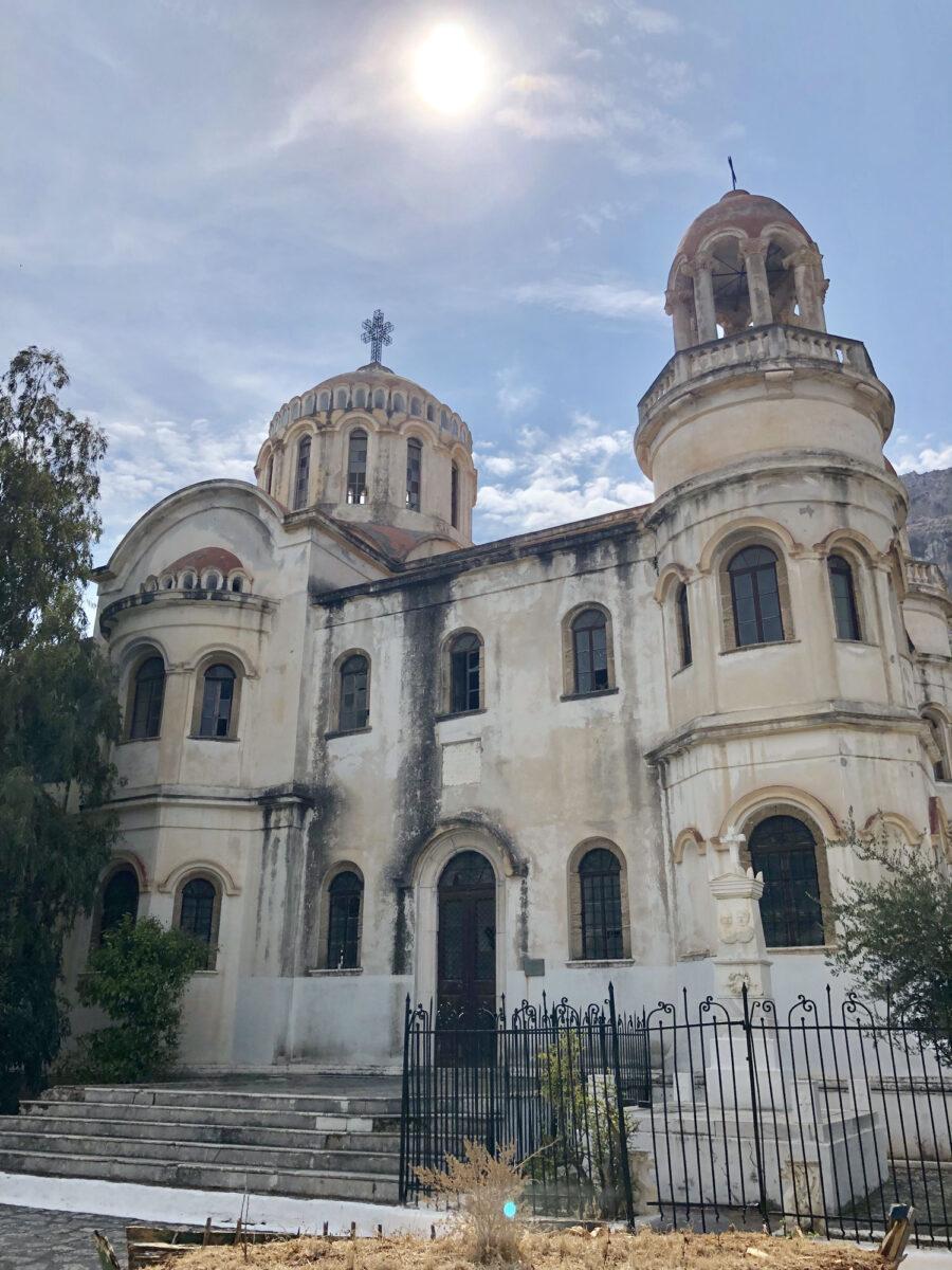 Καστελόριζο, ο ναός του Αγίου Γεωργίου Σαντραπέ (φωτ.: ΥΠΠΟΑ).