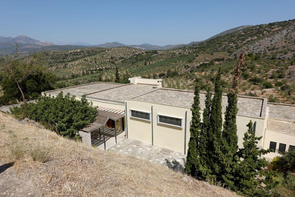 Το Αρχαιολογικό Μουσείο Μυκηνών (φωτ.: ΥΠΠΟΑ).