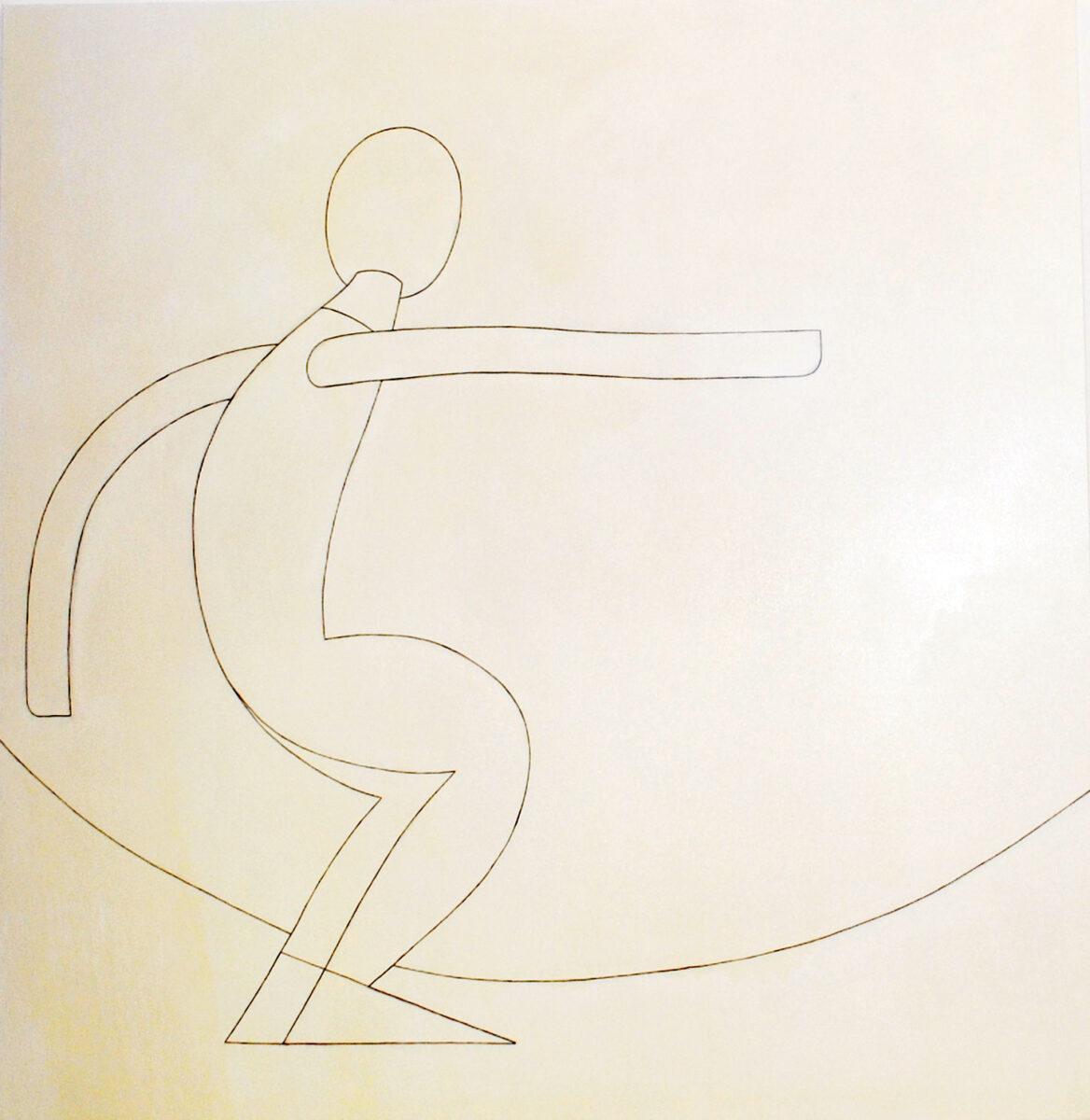 Ηλίας Παπαηλιάκης, «Άντρας με σύννεφο», 2020 (φωτ.: ΟΠΑΝΔΑ).