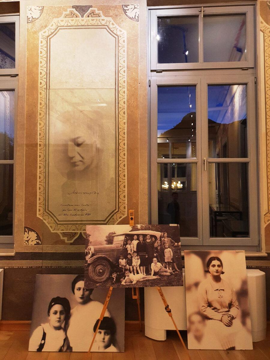 Άποψη του σπιτιού του Μάνου Χατζηδάκι στην Ξάνθη (φωτ.: ΑΠΕ-ΜΠΕ).