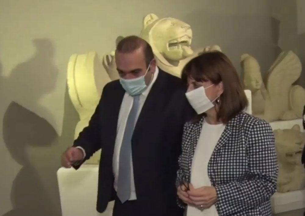 Το Κυπριακό Μουσείο επισκέφτηκε η Πρόεδρος της Ελληνικής Δημοκρατίας