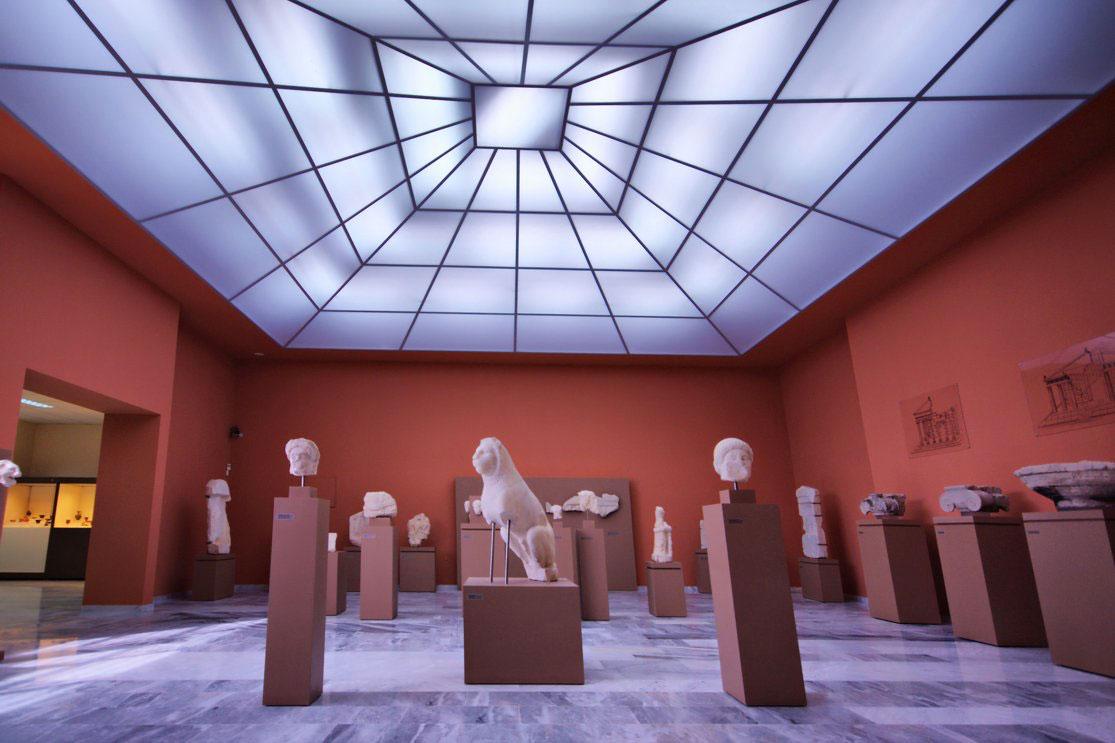 Το Αρχαιολογικό Μουσείο Αιανής (φωτ.: Δήμος Κοζάνης).