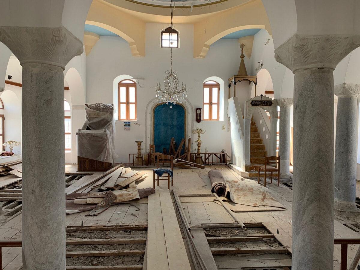 Τέμενος Ντεφντερντάρ στην Πλατεία Ελευθερίας (φωτ.: ΥΠΠΟΑ).