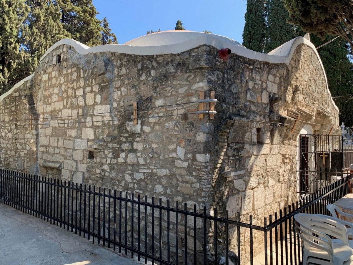 Το παλαιοχριστιανικό βαπτιστήριο «Επτά Βήματα» του Αγίου Ιωάννη στην Κω (φωτ.: ΥΠΠΟΑ).