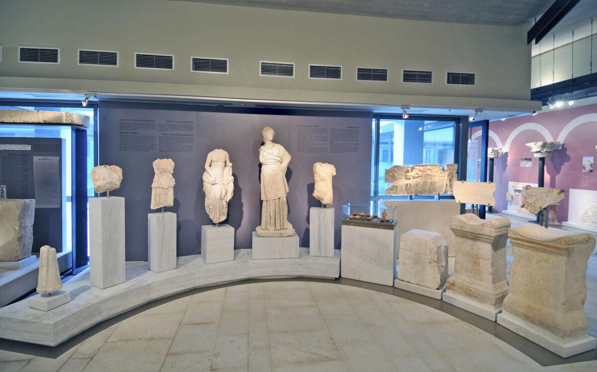 Στο Αρχαιολογικό Μουσείο Νικόπολης (φωτ.: ΕΦΑ Πρέβεζας).