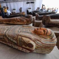 59 φαραωνικές σαρκοφάγοι βρέθηκαν στη Νεκρόπολη της Σακκάρα