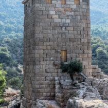 Ο Νοτιοανατολικός Πύργος αναστηλωμένος και πλήρως αποκατεστημένος (Γ. Ασβεστάς, 2016, Αρχείο ΥΠΠΟΑ).