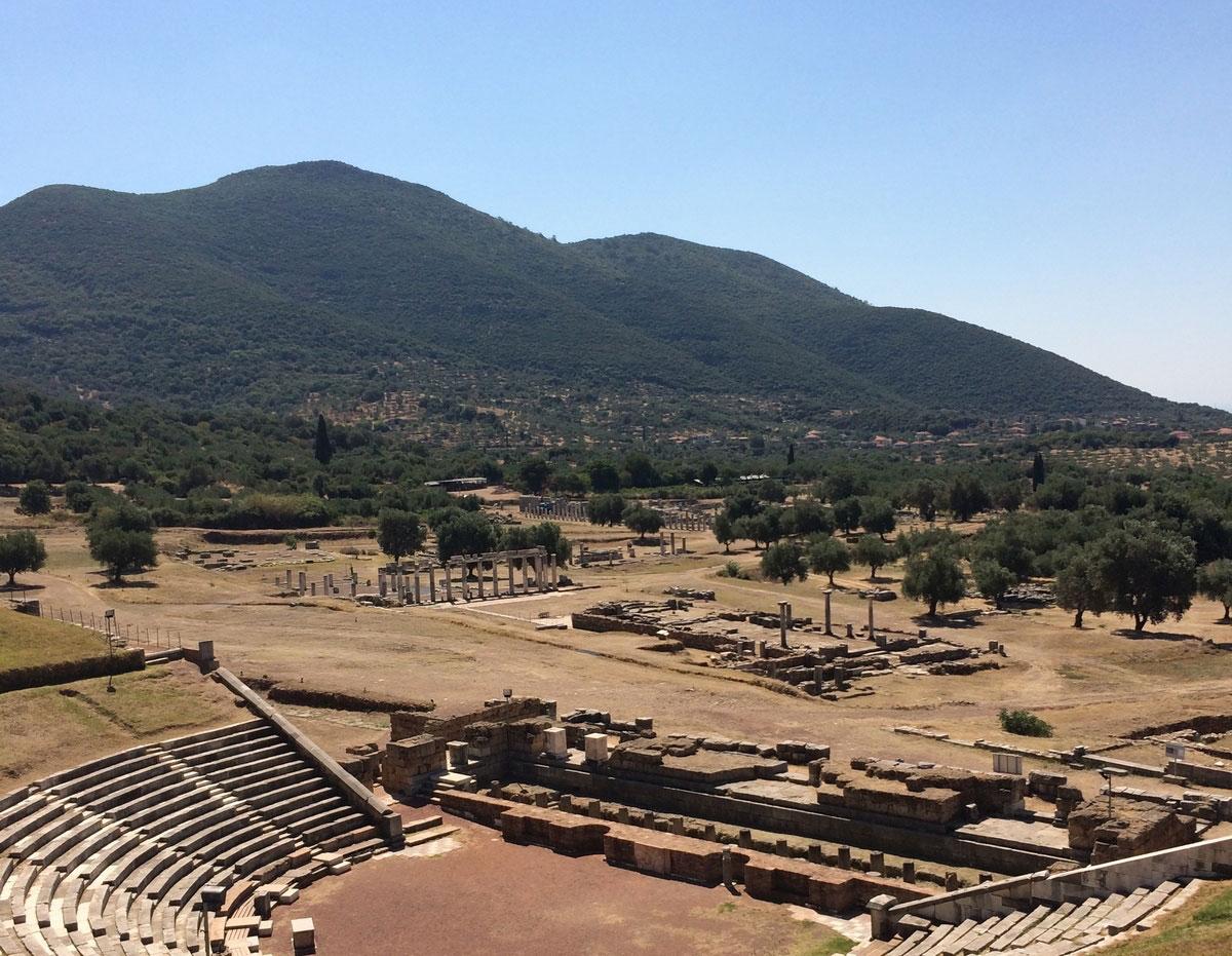 Ο αρχαιολογικός χώρος της Αρχαίας Μεσσήνης (φωτ.: ΥΠΠΟΑ).