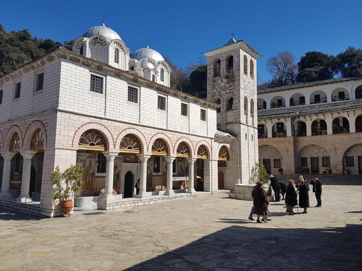 Σπάνιο κειμήλιο του 10ου αιώνα επιστρέφει στη μονή Εικοσιφοίνισσας