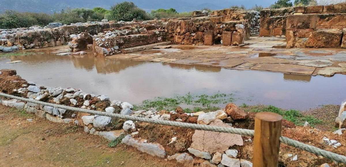 Ο χώρος του Ανακτόρου στα Μάλια (φωτ.: ΥΠΠΟΑ).