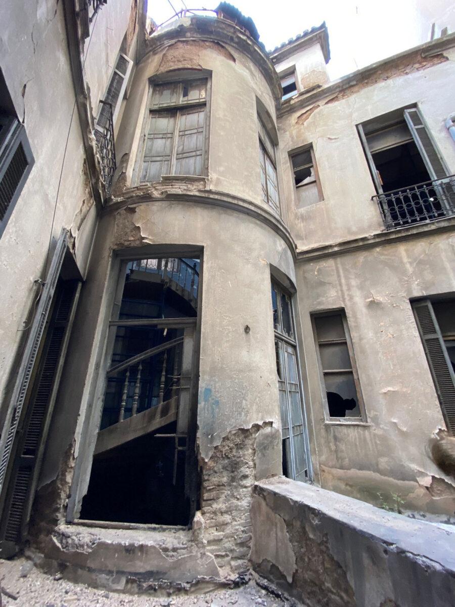 Tο μέγαρο του Αλέξανδρου Σούτσου (φωτ.: ΥΠΠΟΑ).