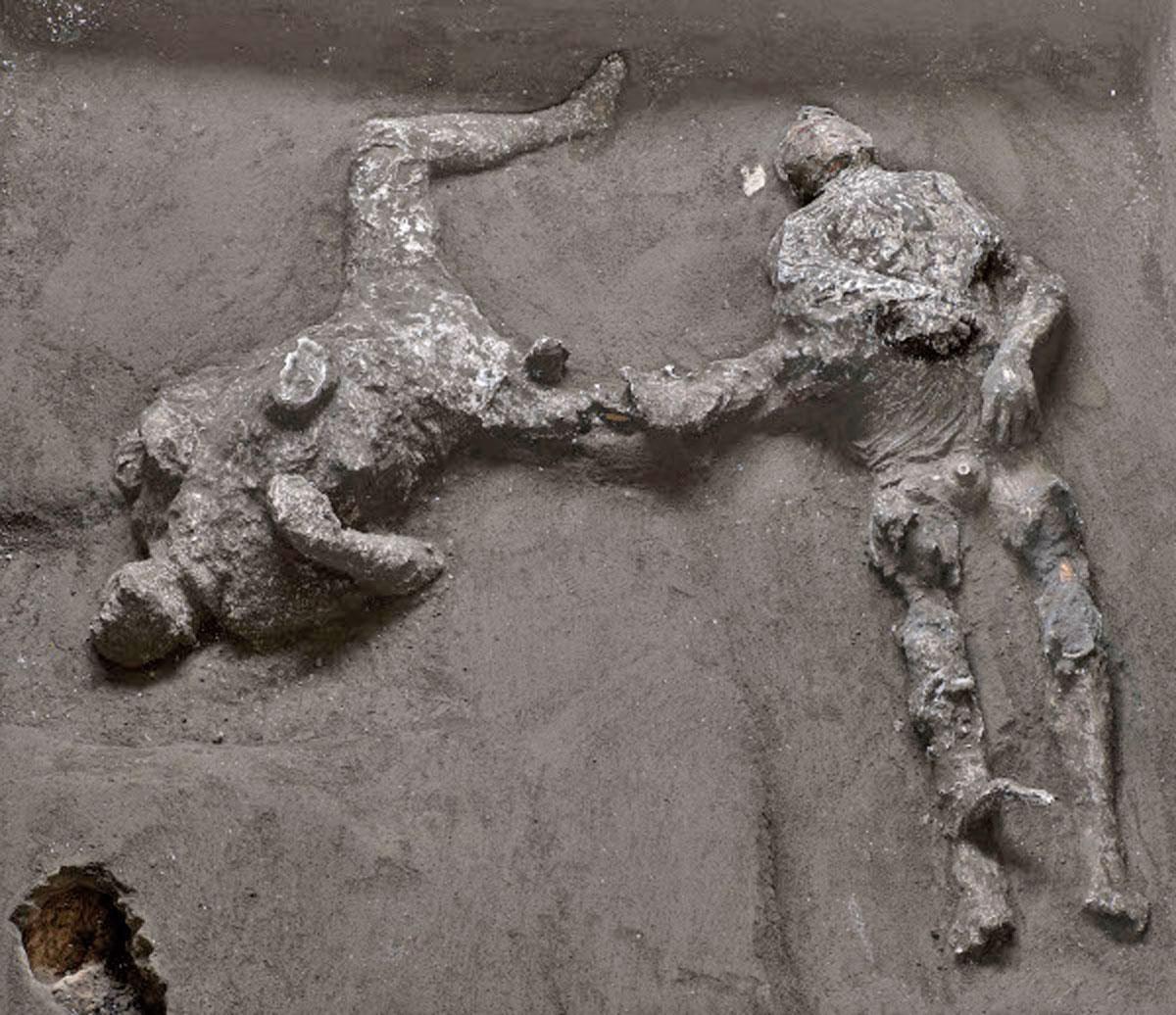 Νέο εντυπωσιακό εύρημα στην Πομπηία