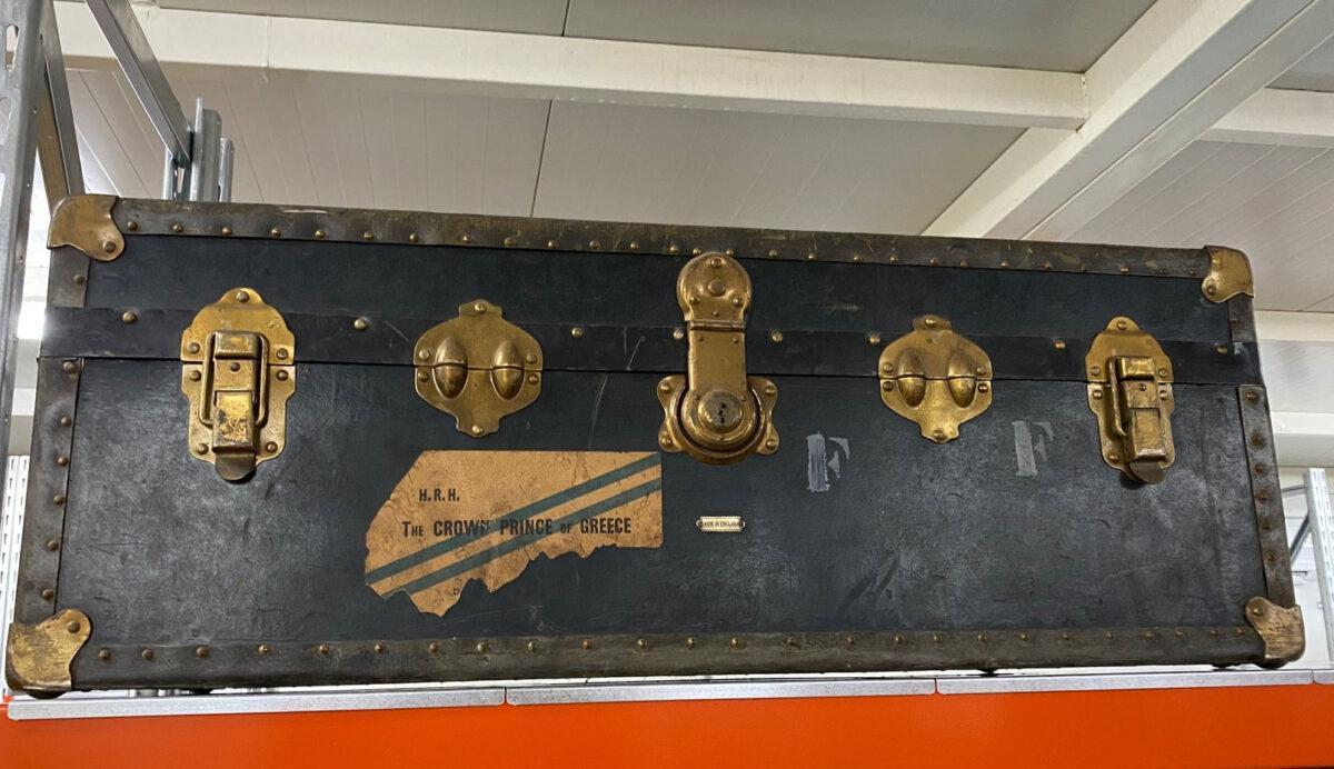 Βαλίτσα στον χώρο συντήρησης (φωτ.: ΥΠΠΟΑ).