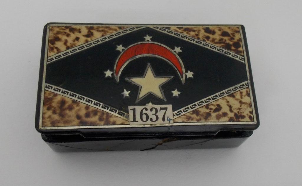 Το κουτί με το χαμένο αντικείμενο που βρέθηκε στο Πανεπιστήμιο του Αμπερντίν (φωτ.: University of Aberdeen).