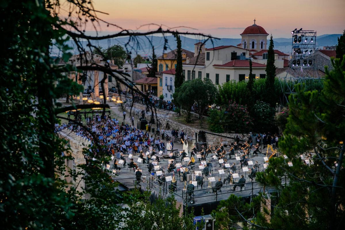 Η εναρκτήρια συναυλία του Όλη η Ελλάδα ένας Πολιτισμός 2020 με την Ανίτα Ρατσβελισβίλι. Φωτ.: ΥΠΠΟΑ.