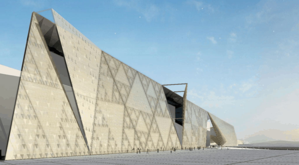 Το Μεγάλο Αιγυπτιακό Μουσείο (φωτ.: ΑΠΕ-ΜΠΕ).