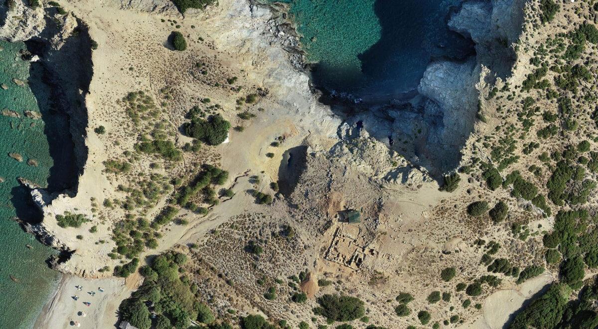 Άποψη της ανασκαφής (πηγή εικόνας: Σεμινάριο Μινωικής Αρχαιολογίας).