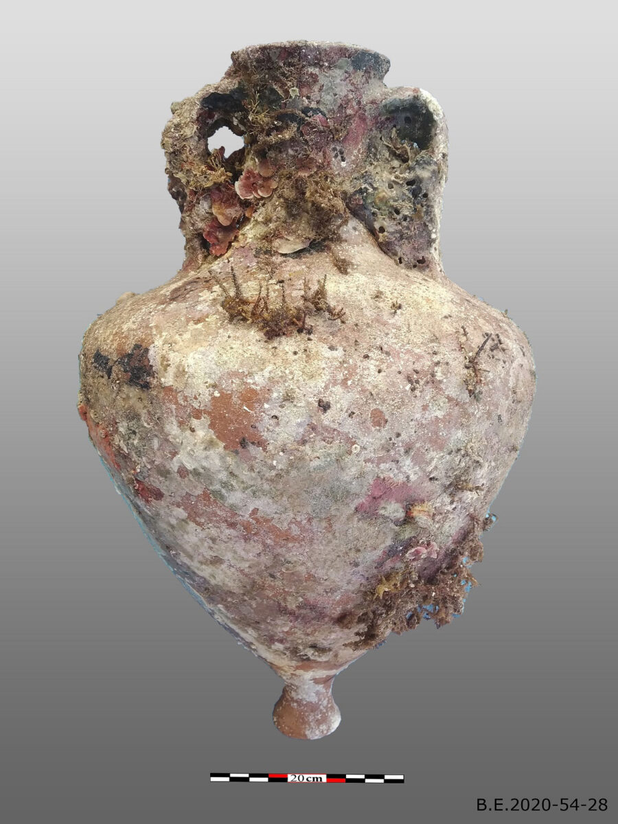 Ενάλια αρχαιολογική έρευνα Κάσου 2020 (φωτ.: ΥΠΠΟΑ).