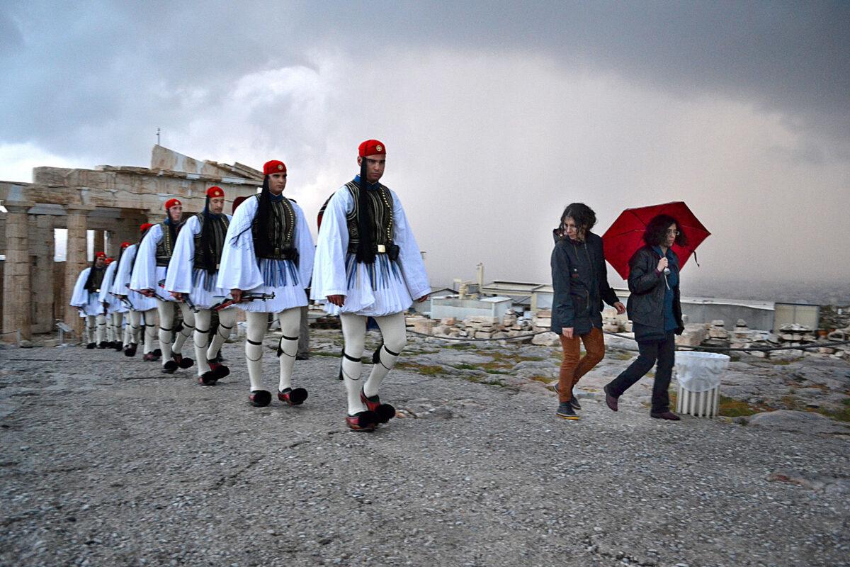 Σπύρος Ζαχαριάς, επισκέπτης, 2014 (φωτ.: ΥΣΜΑ).