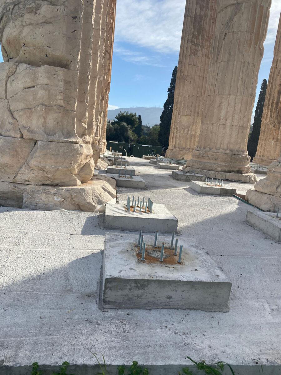 Ναός του Ολυμπίου Διός στην Αθήνα (φωτ.: ΥΠΠΟΑ).