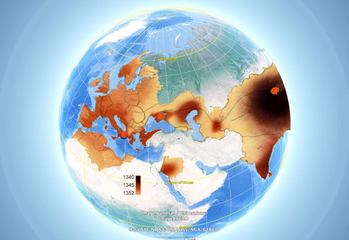 Η Μαύρη Πανώλη των μέσων του 14ου αιώνα μεταφέρθηκε από την Κίνα στην Μεσόγειο και την Ευρώπη μέσω του Εύξεινου Πόντου(φωτ.: ΑΠΕ-ΜΠΕ /Ευάγγελος Λιβιεράτος).