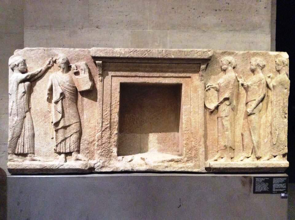 Eκμαγεία σημαντικού μνημείου στο Aρχαιολογικό Mουσείο Θάσου