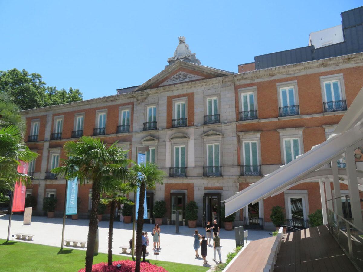 Το Museo Nacional Thyssen-Bornemisza της Μαδρίτης (φωτ.: Wikipedia).