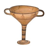 Κίρρα, κύλικα μυκηναϊκών χρόνων (14ου–13ου αι. π.Χ.).