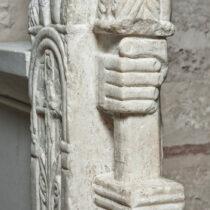 Ναός Μεταμορφώσεως του Σωτήρος, λεπτομέρεια από το τέμπλο.