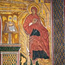 Σπύρος Παπαλουκάς, «Η Παναγία» στον ναό του Ευαγγελισμού της Θεοτόκου.