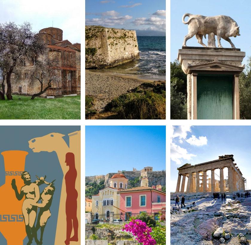 H Clio Muse εξειδικεύεται, μεταξύ άλλων, στην ανάπτυξη περιεχομένου για θεματικές ξεναγήσεις ιστορίας, γαστρονομίας και αρχιτεκτονικής.