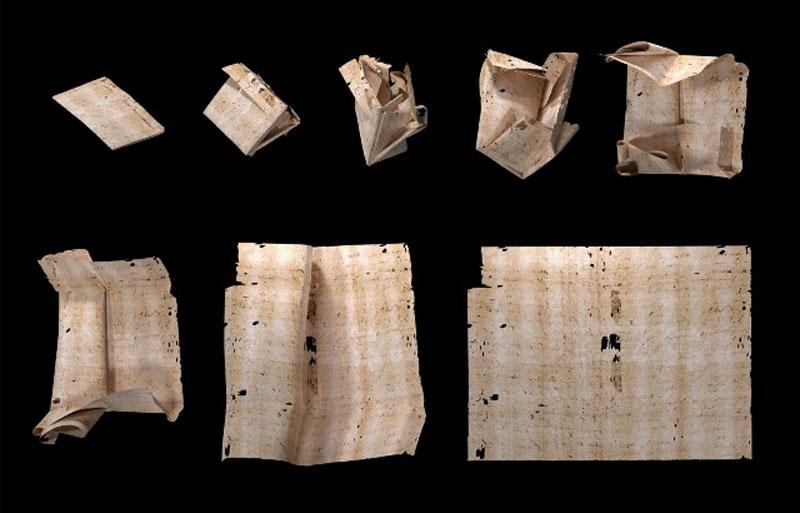 Διαβάστηκε σφραγισμένο γράμμα τριών αιώνων