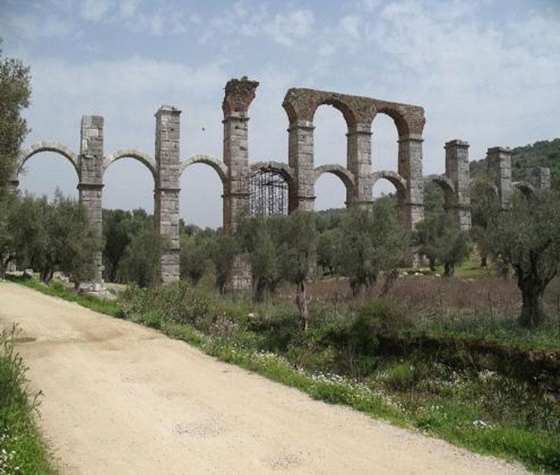 Το ρωμαϊκό υδραγωγείο της Μόριας