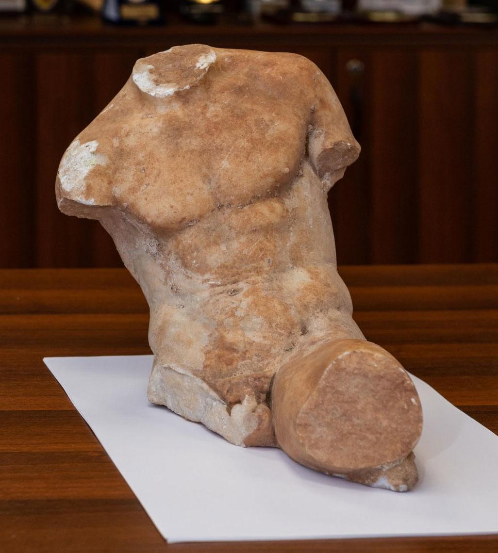 Άγαλμα του 5ου αι. π.Χ. παραδόθηκε στο ΥΠΠΟΑ