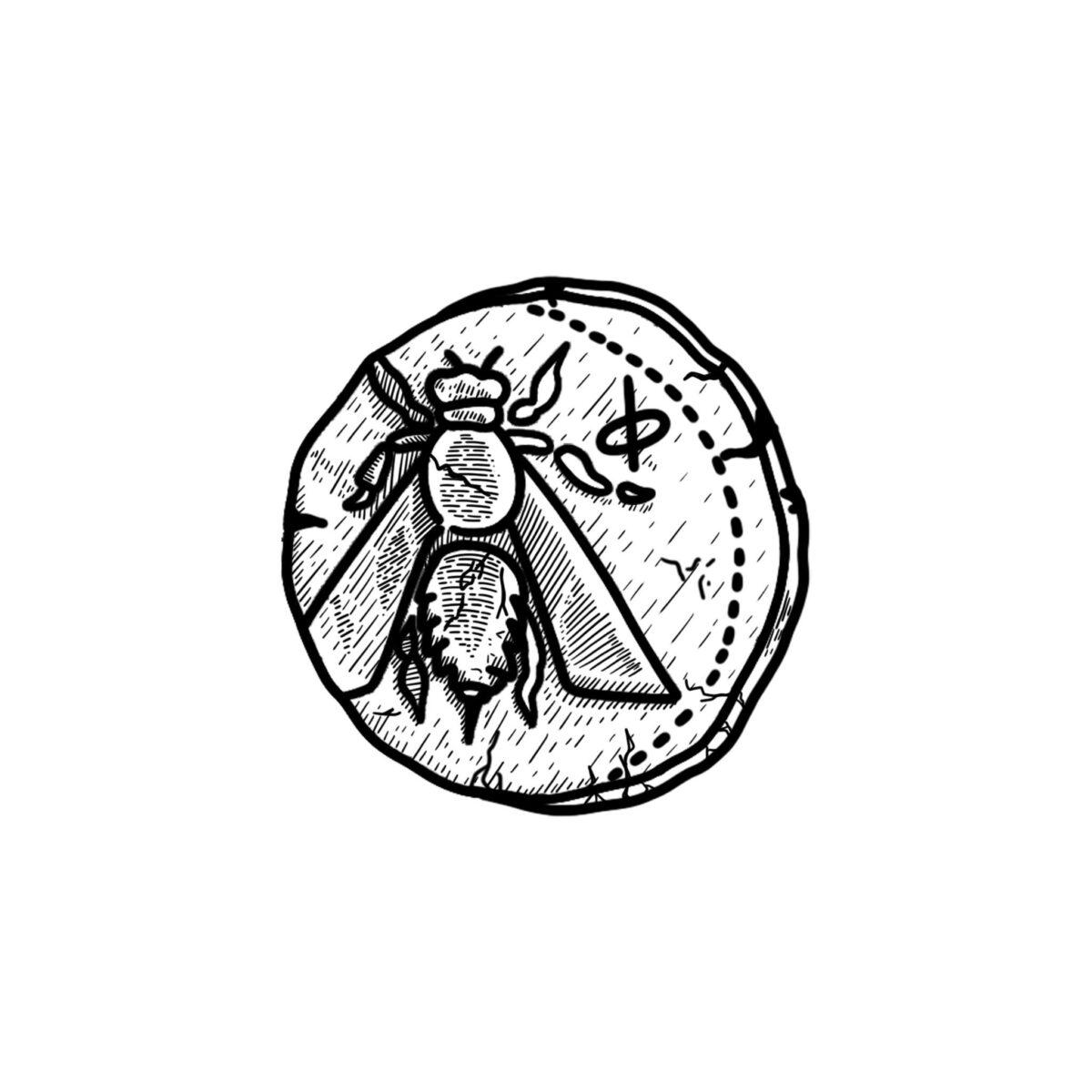 Η μέλισσα είναι το έμβλημα του 9ου Πανελληνίου Συνεδρίου Φοιτητών Αρχαιολογίας.