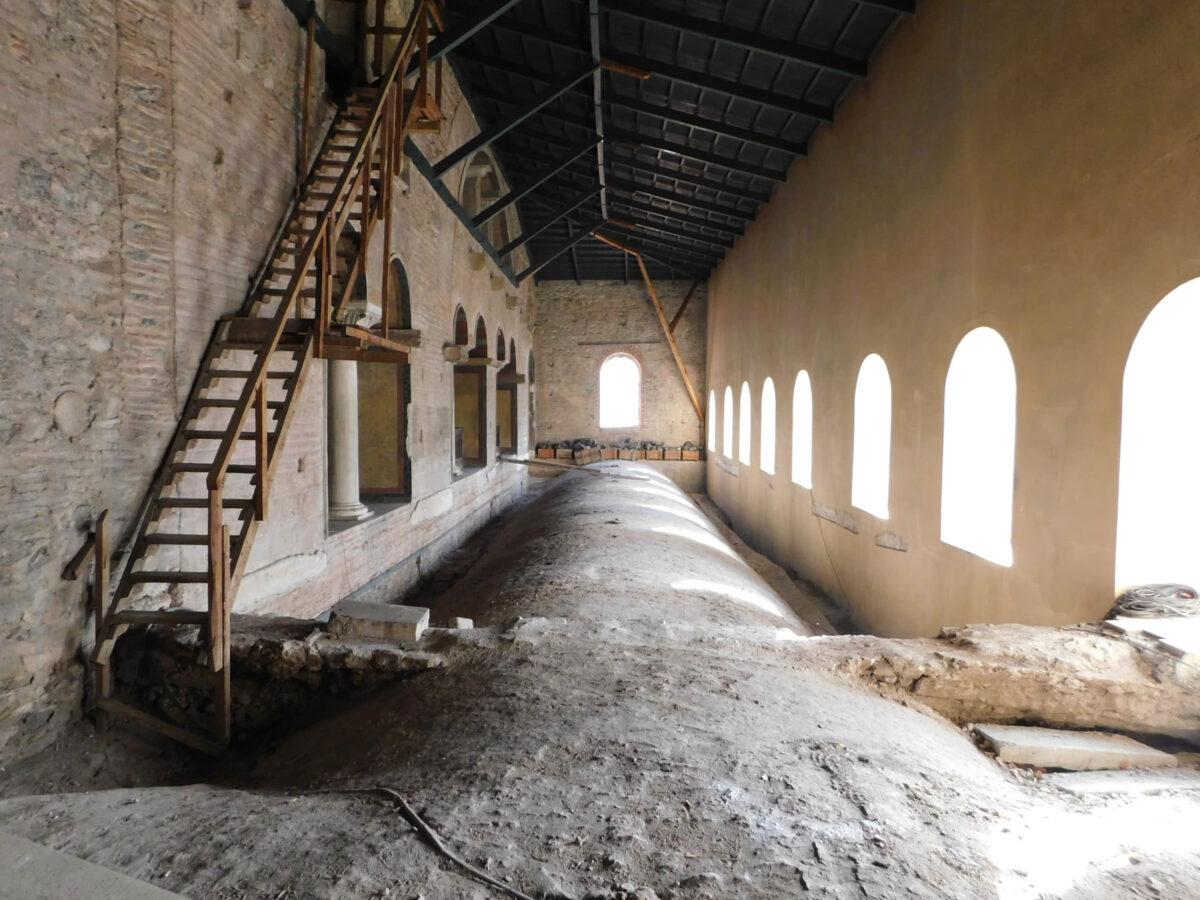Tα άγνωστα στο κοινό υπερώα του βυζαντινούναού της Αγίας Σοφίας θα παρουσιάσει η Εφορεία Αρχαιοτήτων Πόλης Θεσσαλονίκης.