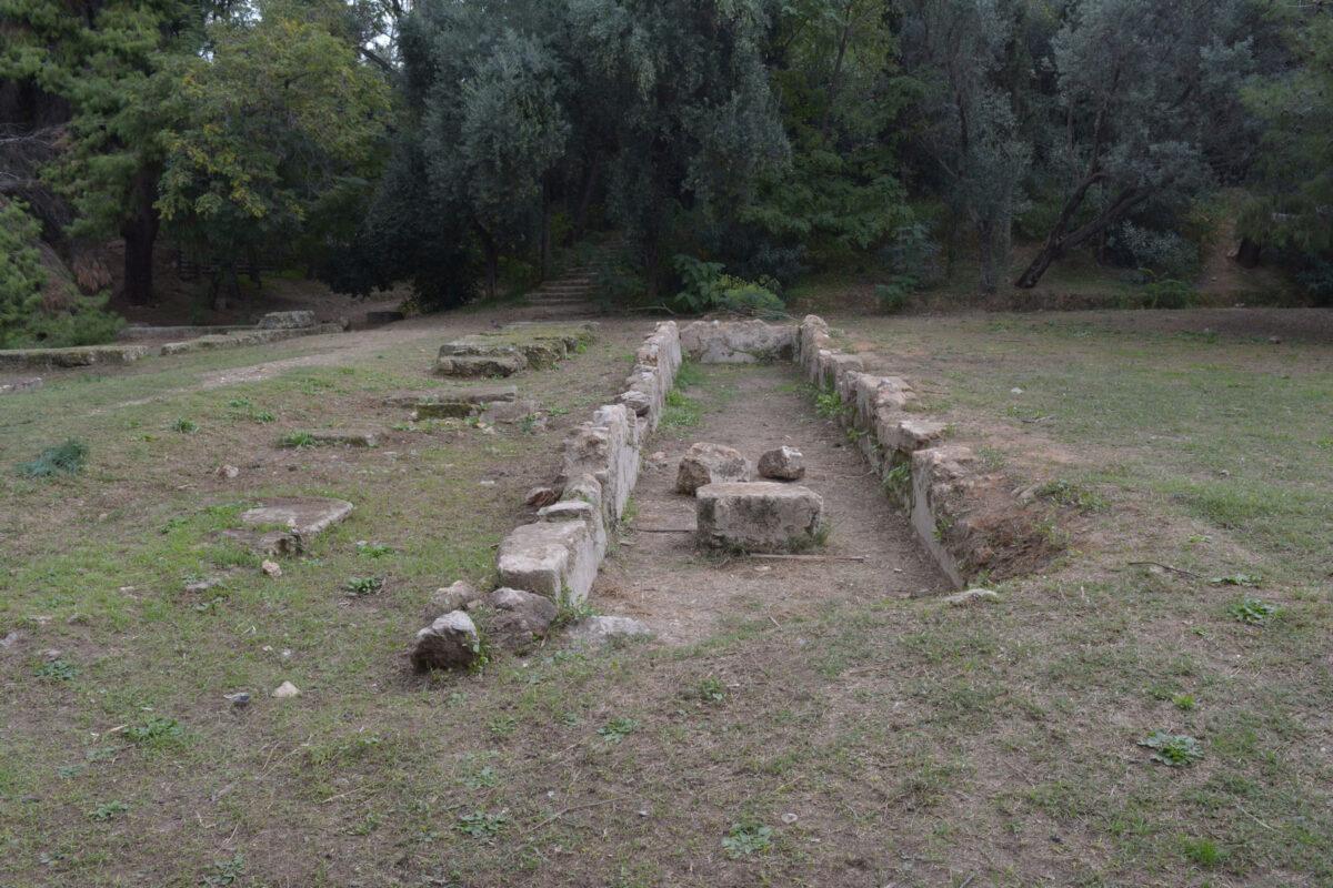 Ο τομέας του Γυμνασίου στην Ακαδημία Πλάτωνος (φωτ.: ΥΠΠΟΑ).
