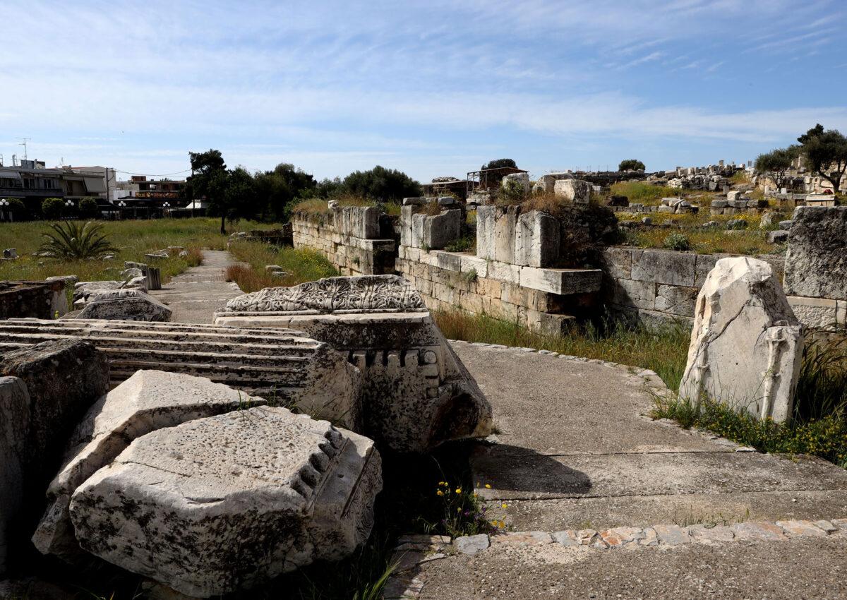 Αρχαιολογικός χώρος Ελευσίνας (φωτ.: ΥΠΠΟΑ).
